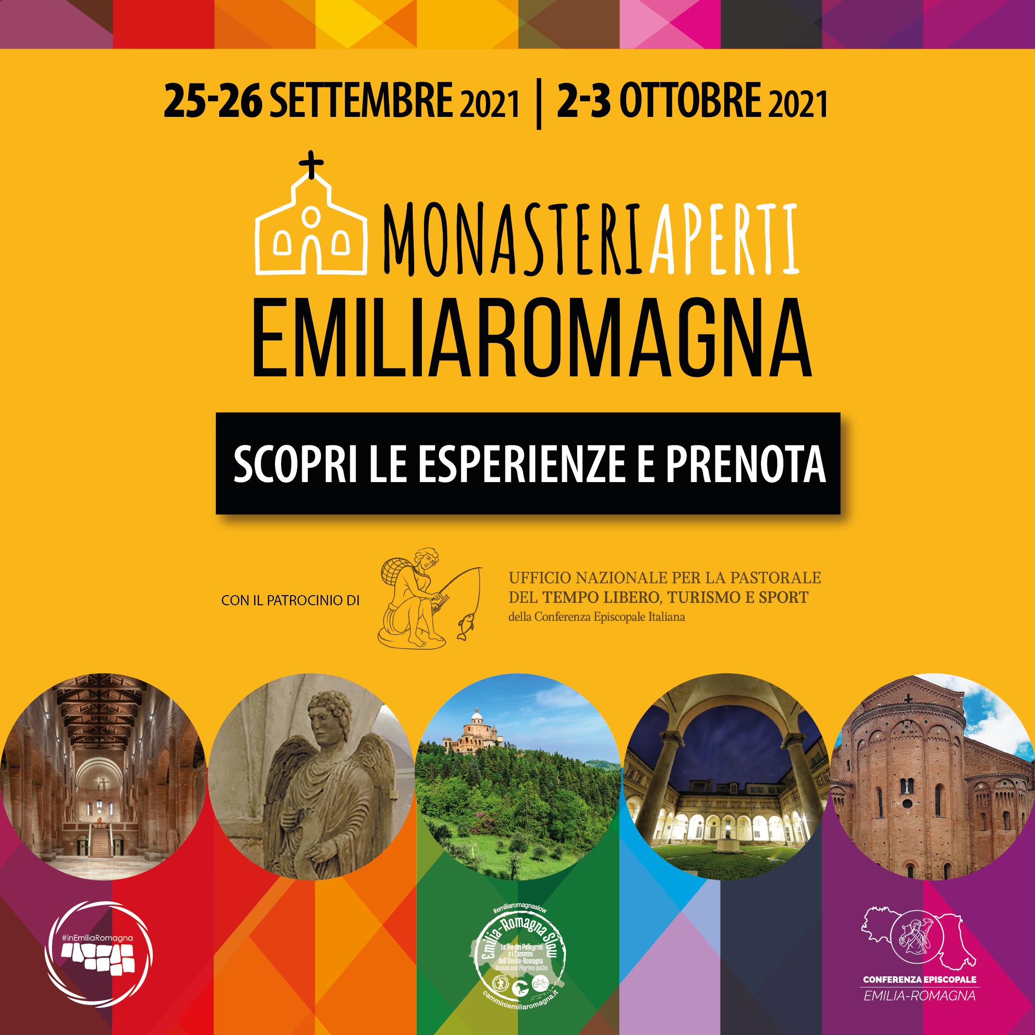 Monasteri Aperti Emilia Romagna Autunno 2021 - MONASTERI APERTI EMILIA ROMAGNA 2021