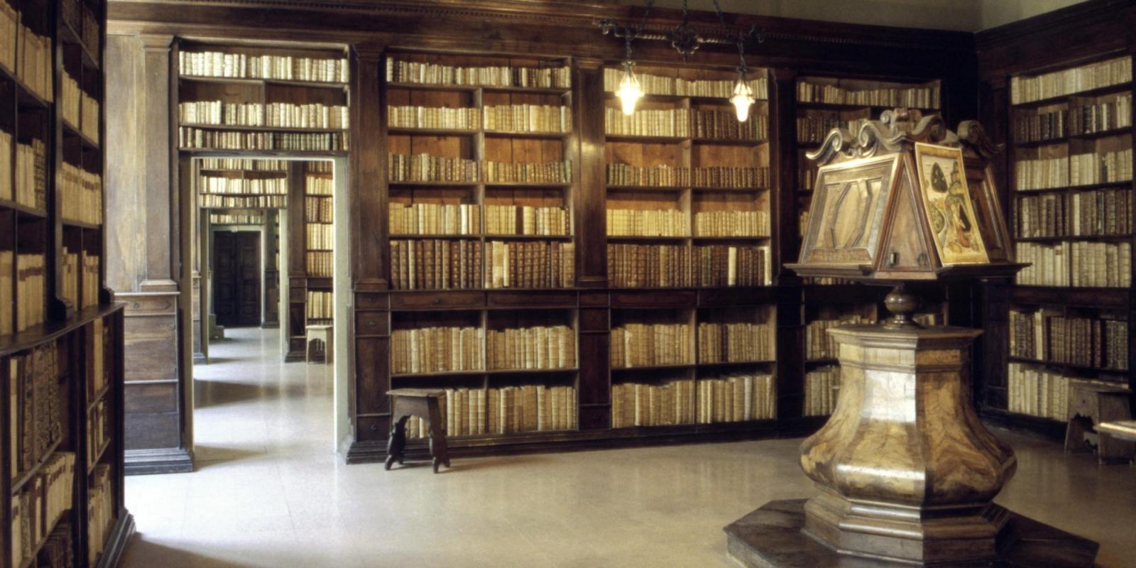Le opere di Dante nella storia della Gambalunga