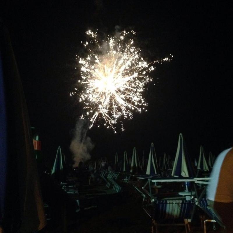 NOTTE ROSA I fuochi d'artificio