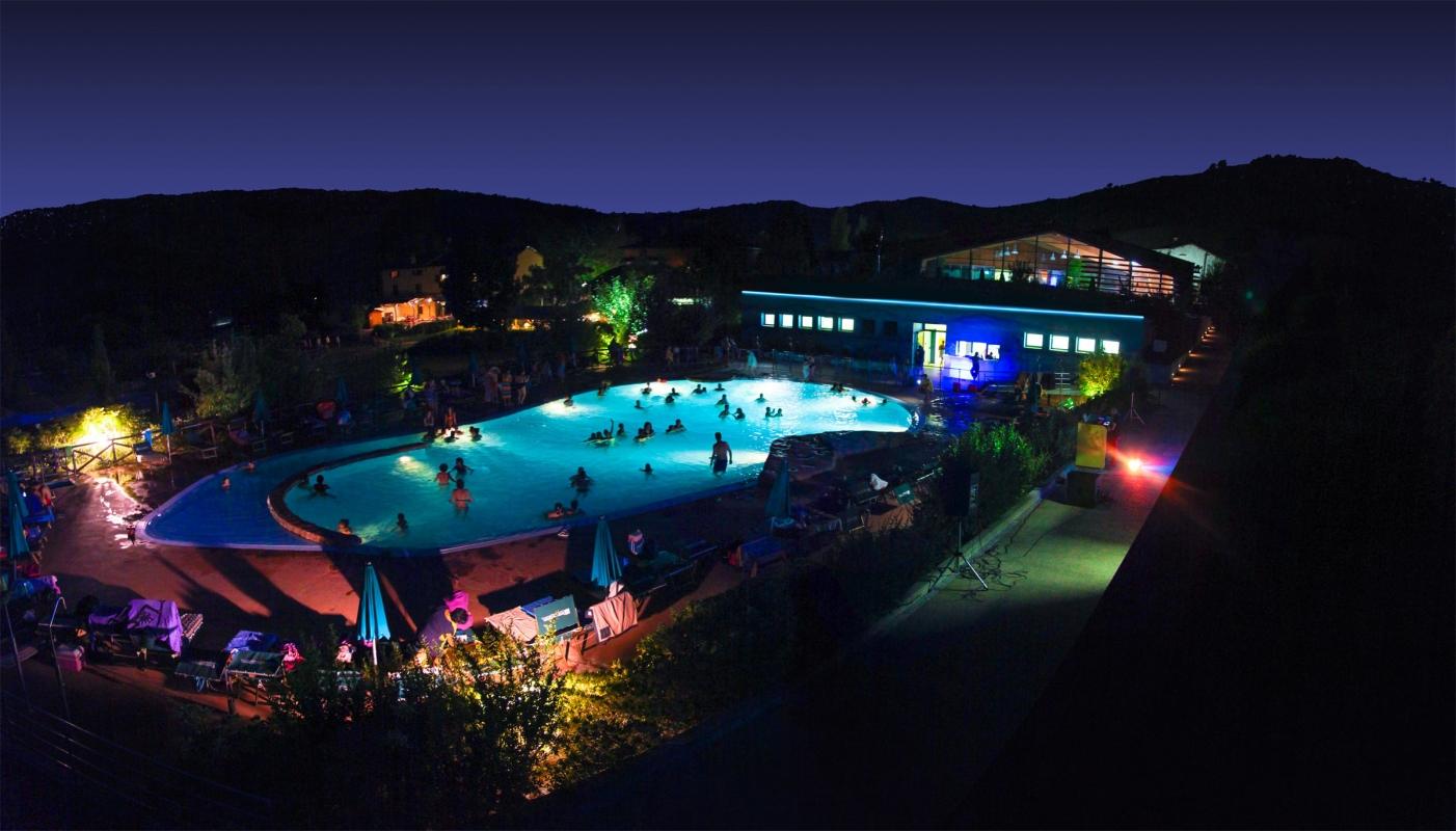 Acquapark blue night
