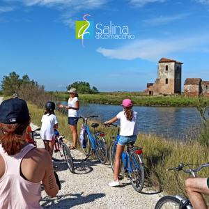 Escursione in bicicletta nella Salina di Comacchio