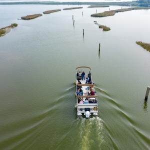 In barca da Comacchio ai luoghi dell'anguilla