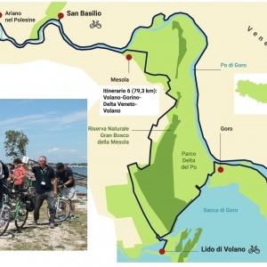 In bicicletta nel Delta del Po