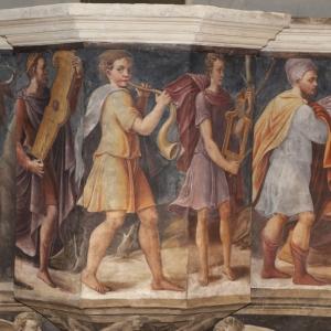 """Monasteri Aperti - Visita guidata: """"Rinascimento nella chiesa abbaziale: il coro ligneo e i dipinti dell'abside; le portelle e la tribuna dell'organo"""""""