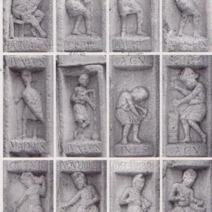 I LOVE CAMMINI: La simbologia del ciclo dei mesi nelle raffigurazioni