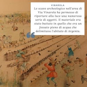 I love cammini: Lo scavo di Via Vinarola e l'insegna di pellegrinaggio