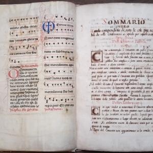 Manoscritti del Monastero di San Pietro di Modena dal Cinque al Novecento