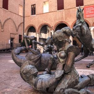 Mostra al Castello Estense -  Le donne, i cavallier, l'arme, gli amori - Umanità