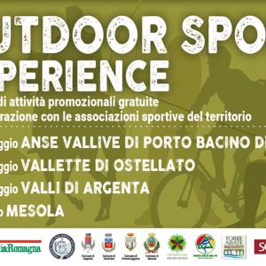 Outdoor Sport Experience DOMENICA 30 MAGGIO 2021
