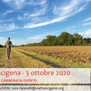 I Love Francigena - 3 Ottobre 2020