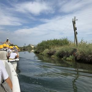 In barca lungo la via del Sale alla Salina di Cervia