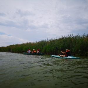 In canoa sul Bevano