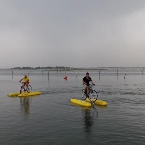 Gran tour del Delta del Po pedalando da Ferrara a Chioggia e Ravenna
