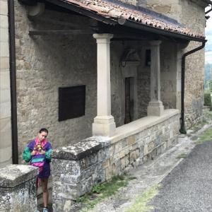 la Pieve incastellata - a Toano, tra archeologia ed architettura